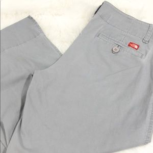 Gray The North Face women's capri pants